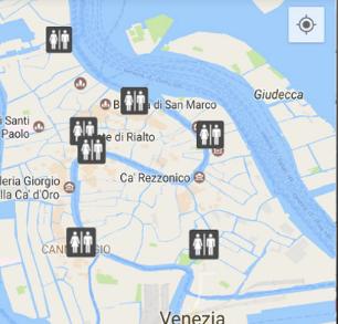 App Bagni Pubblici Venezia