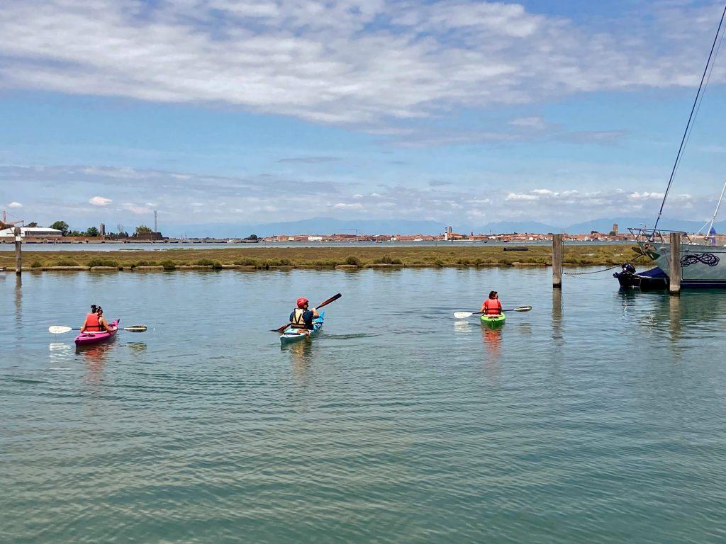 Esperienze da fare a Venezia: tour in kayak