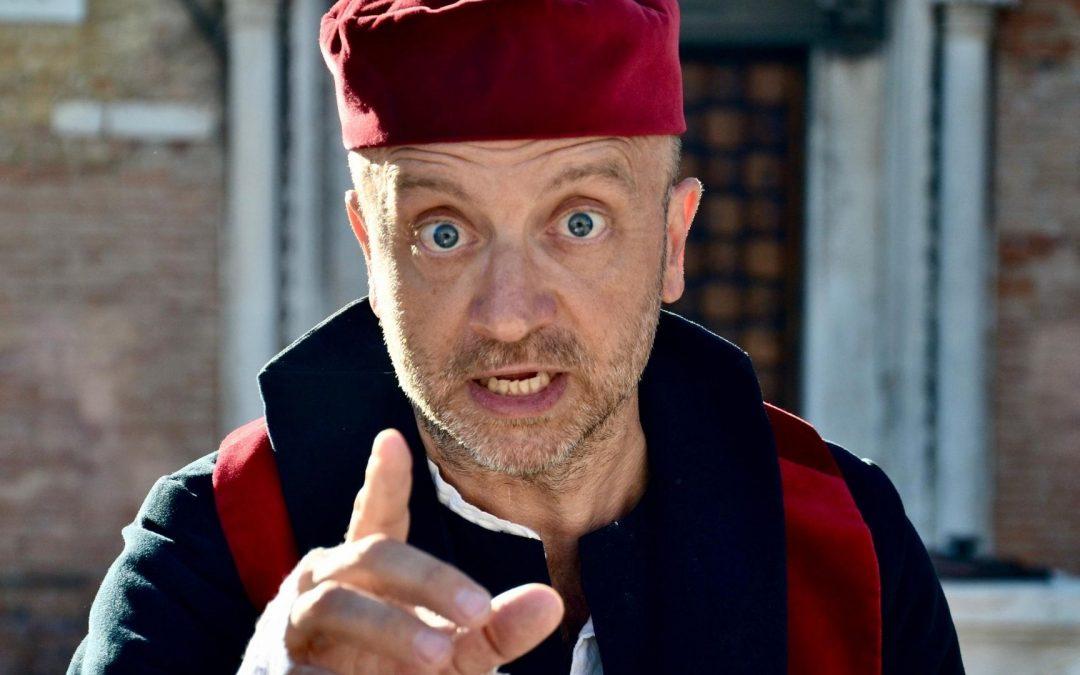 Nuovi tour a Venezia: passeggiata con Shylock