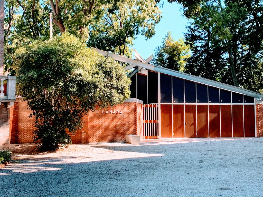 Visitare gli spazi della Biennale