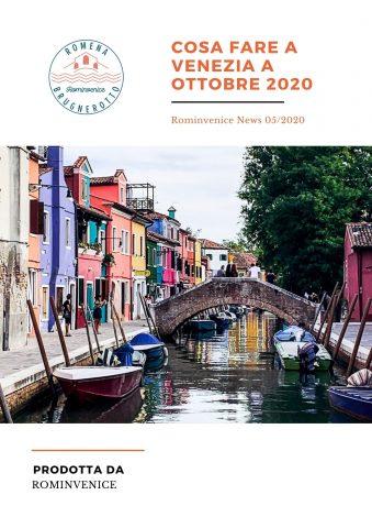 Cosa fare a Venezia a Ottobre 2020